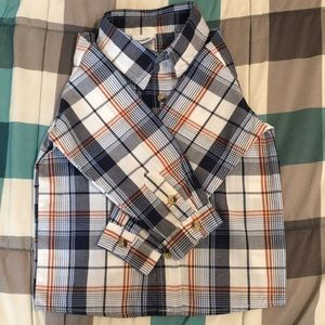 3T boys long sleeve button up